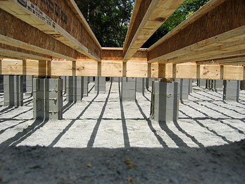 Types of house foundation basement crawl space and slab for Crawl space foundation