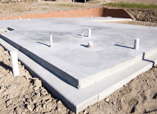 3 types of house foundation basement crawl space and for Crawl space slab
