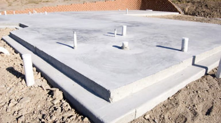 Advantages and disadvantages of slab foundations for House slab foundation